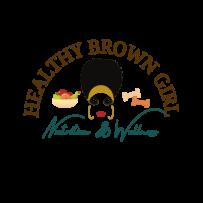 Healthy Brown Girl Logo